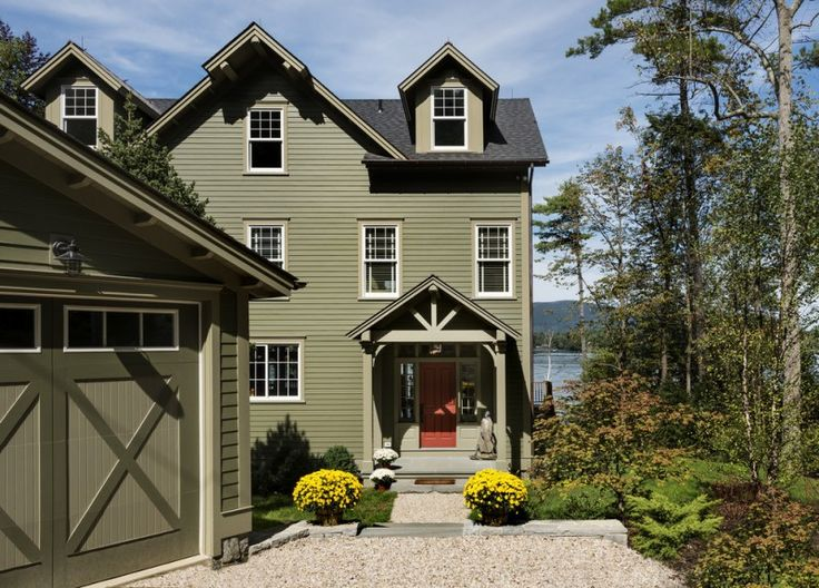 1000 ideas about exterior color combinations on pinterest - Green exterior house color ideas ...