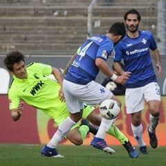 German Bundesliga Football - Darmstadt 98 vs FC Augsburg