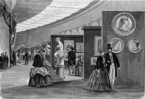 62 best salon de paris 1748 1890 images on pinterest for Salon exposition paris