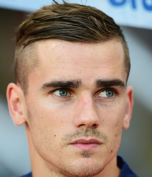 Soccer Player Haircut - Antoine Griezmann