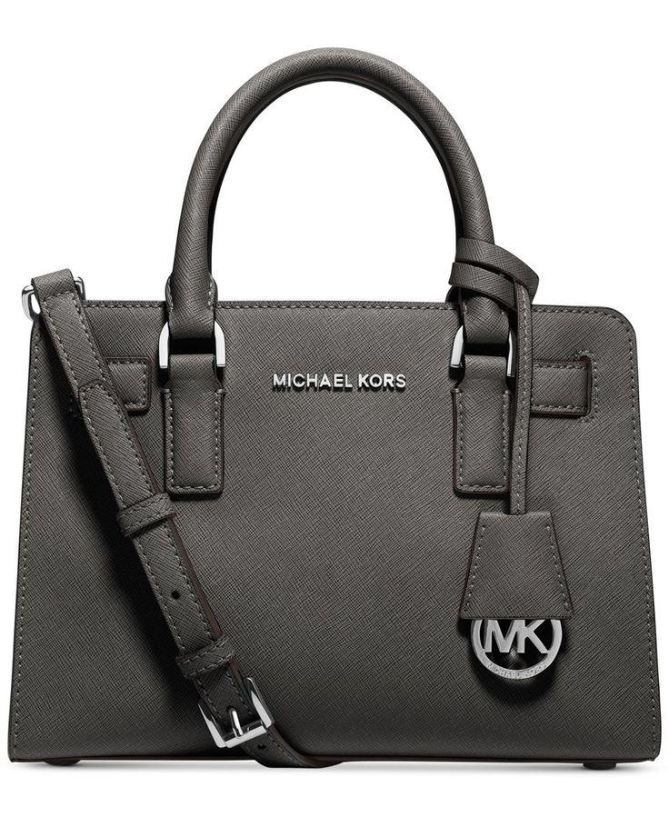 MICHAEL Michael Kors Dillon Small Satchel - Handbags & Accessories - Macy's
