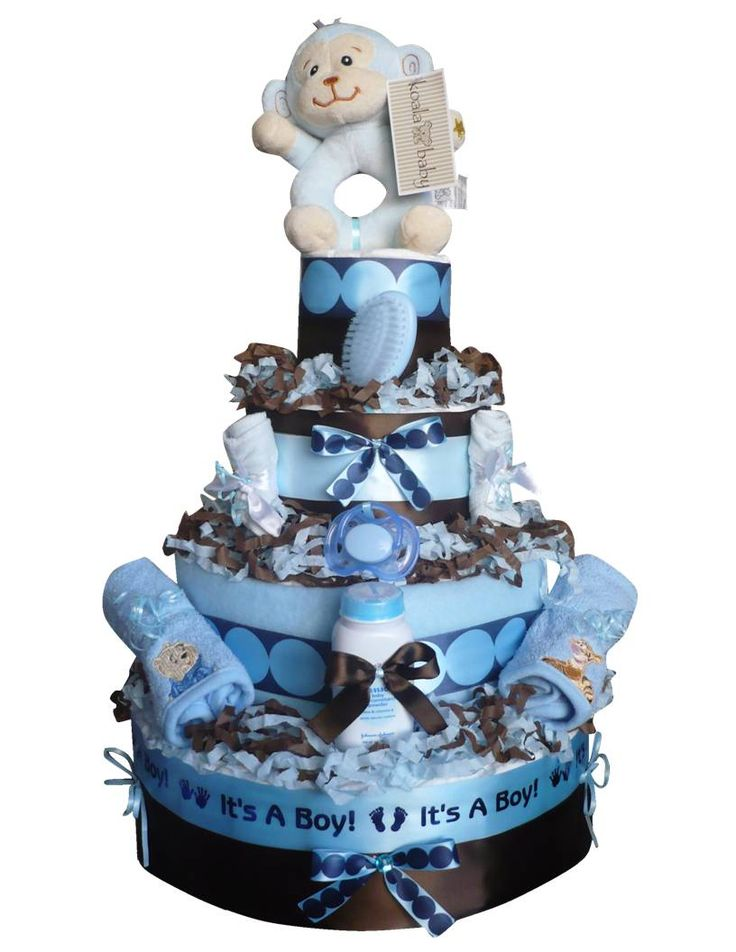 Boy Diaper Cake Decorations : 17 Best images about Diaper Cakes for Boys on Pinterest ...