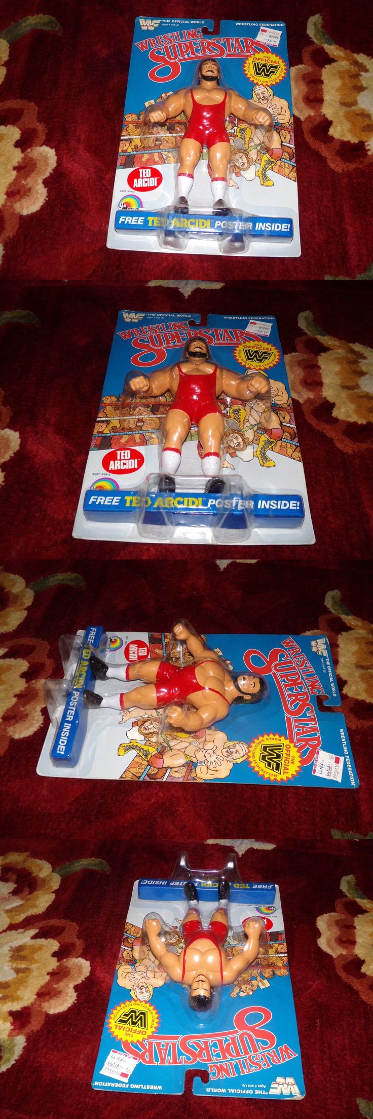 Sports 754: Moc Wwf Ljn Wrestling Superstars Ted Arcidi (1987) Figure - Wwe -> BUY IT NOW ONLY: $99.99 on eBay!