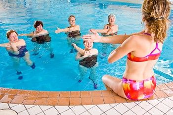 Water Aerobic Routines