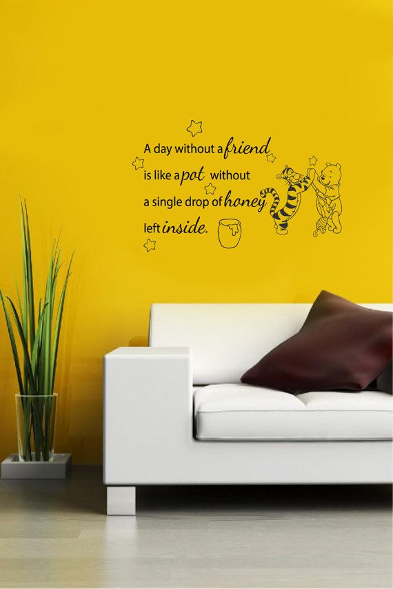 37 best Winnie the Pooh Quote Decals images on Pinterest | Vinyl ...