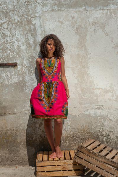 Kleid aus Gambia - Addis Abeba von KOKOworld auf DaWanda.com                                                                                                                                                                                 Mehr