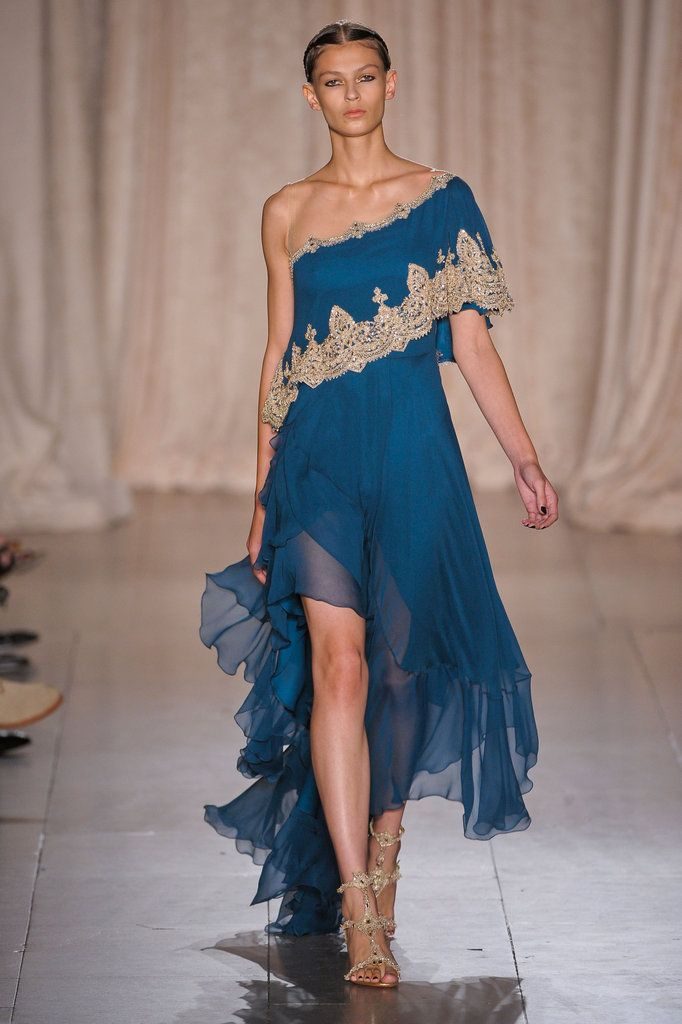 Marchesa Spring 2013 | Runway Photo 5  Ode To India