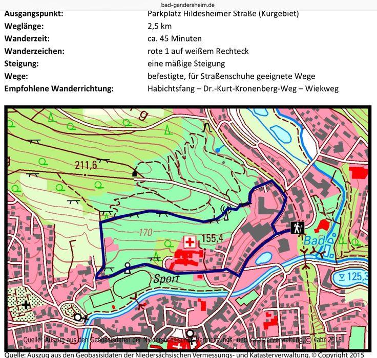 Perfect RW Rundweg Stadtblick Bad Gandersheim Malerisch am Westrand des Harz gelegen bietet unser Sole