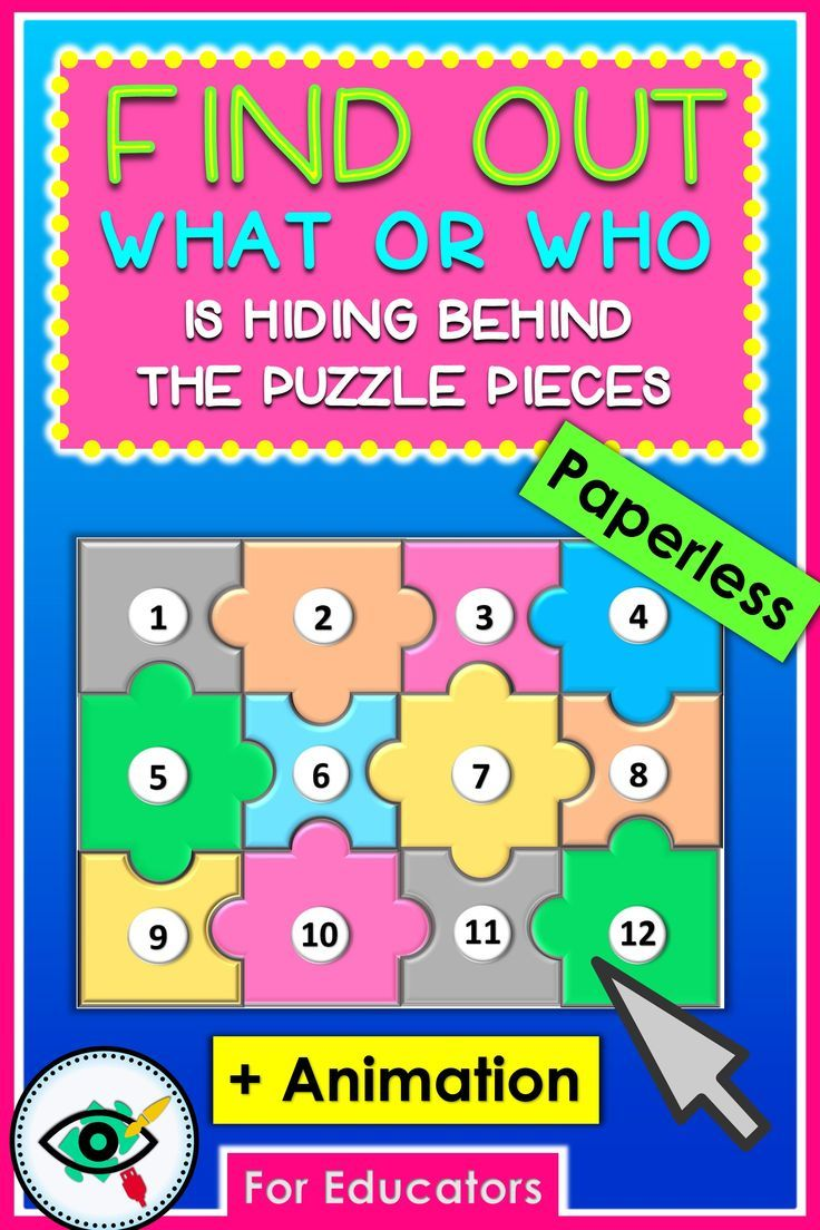 Puzzle Boards Game Templates With Animation Puzzle Board Games Board Game Template Back To School Hacks