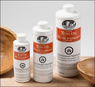 100% Pure Tung Oil - Woodworking