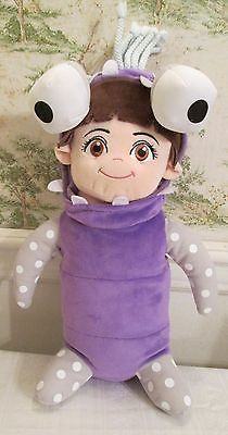 Details about Disney Pixar Monsters Inc Girl Boo Plush Purple Alien Costume 14 Inch Stuffed