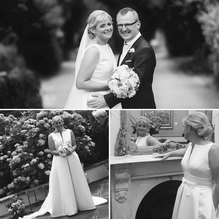 """""""Meant to send these photos a long time ago!!!! But thank you all spook much for your help, expertise and kindness when I bought my dress. I just loved it. Aine x"""