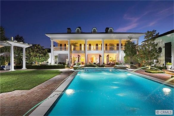 modern plantation style homes | Homes of the Rich highlighted this Southern plantation style home in ...