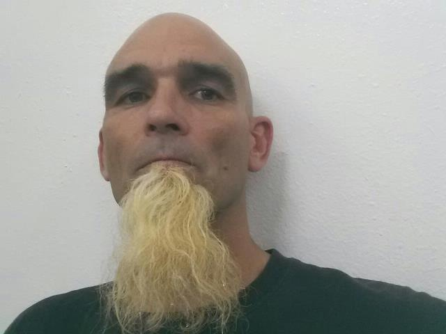 Beard Fun With Splat Lightening Bleach Blonde Hair