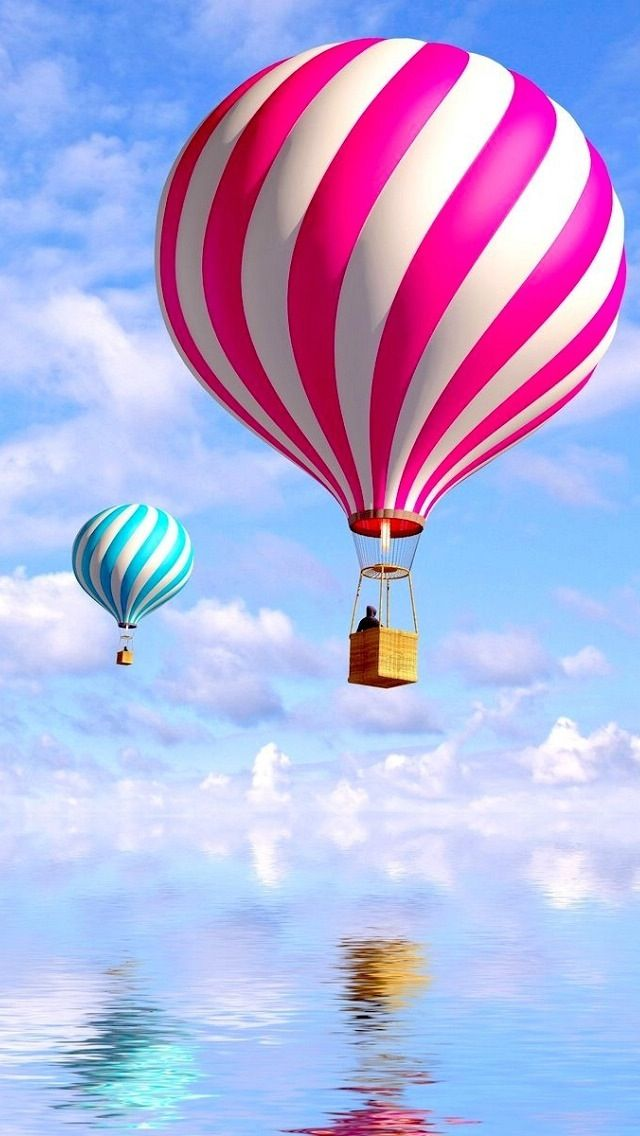 Wallpapers For Iphone 5 Find A Wallpaper Background Or Lock Screen For Your Iphone Here Balloons Wallpaper Air Balloon