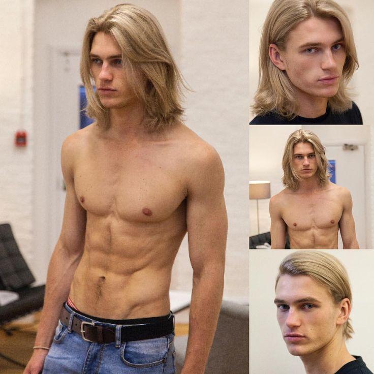 Long Hair.  Don't Care. Model: Charlie Kennedy