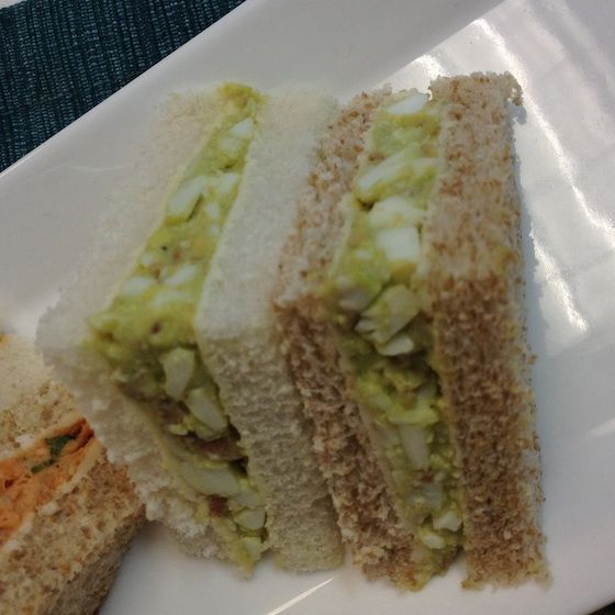 Bacon, Avocado and Egg tea sandwich fillings | The Test Kitchen Blog