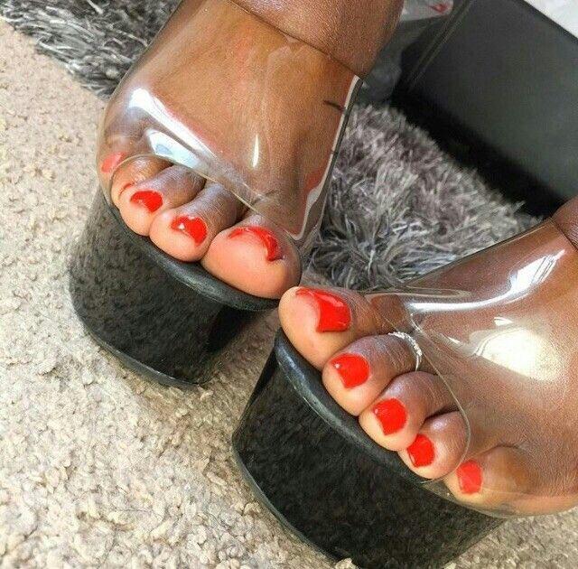 Ebony sexy nohy pic