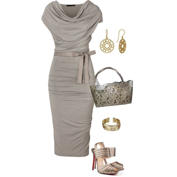 """""""Pencil Dress"""" by daiscat on Polyvore"""