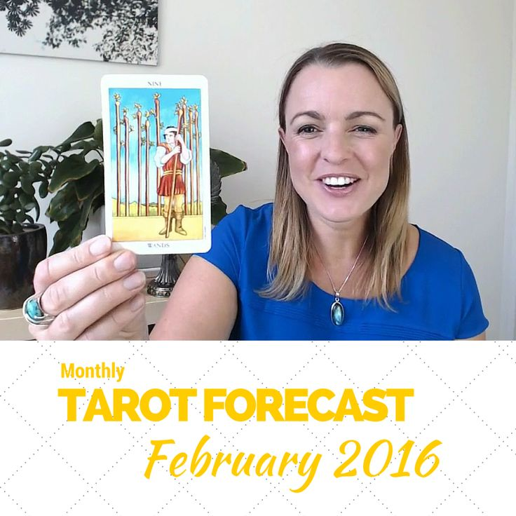 New Tarot Forecast for February! Watch the Tarot card forecast and discover exactly what's coming up in February, and how to make the most of the month ahead: http://www.biddytarot.com/february-2016-forecast/