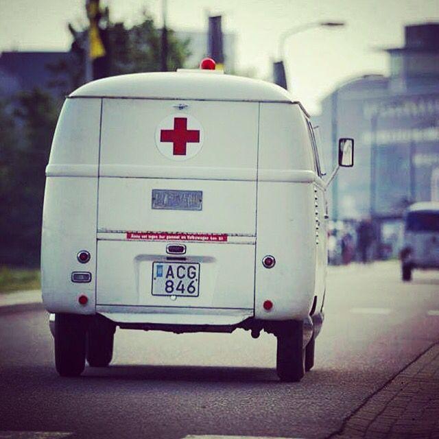 Ambulance VW Bus. #VW #Bus #T1