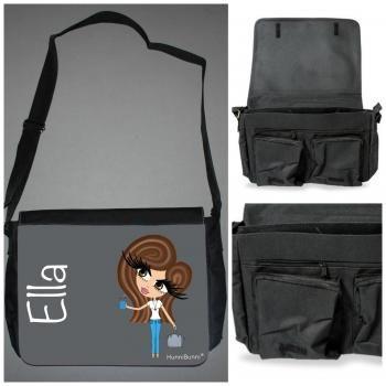 HunniBunni Babes Ella Personalised Messenger Bag (Large)