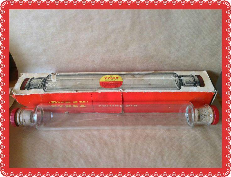 Vintage Pyrex Rolling Pin