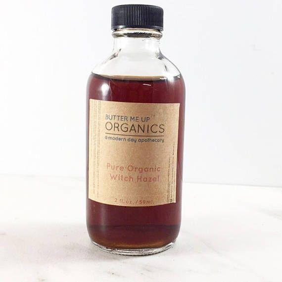 Organic Witch Hazel / Organic Facial Toner / Blemishes / Acne