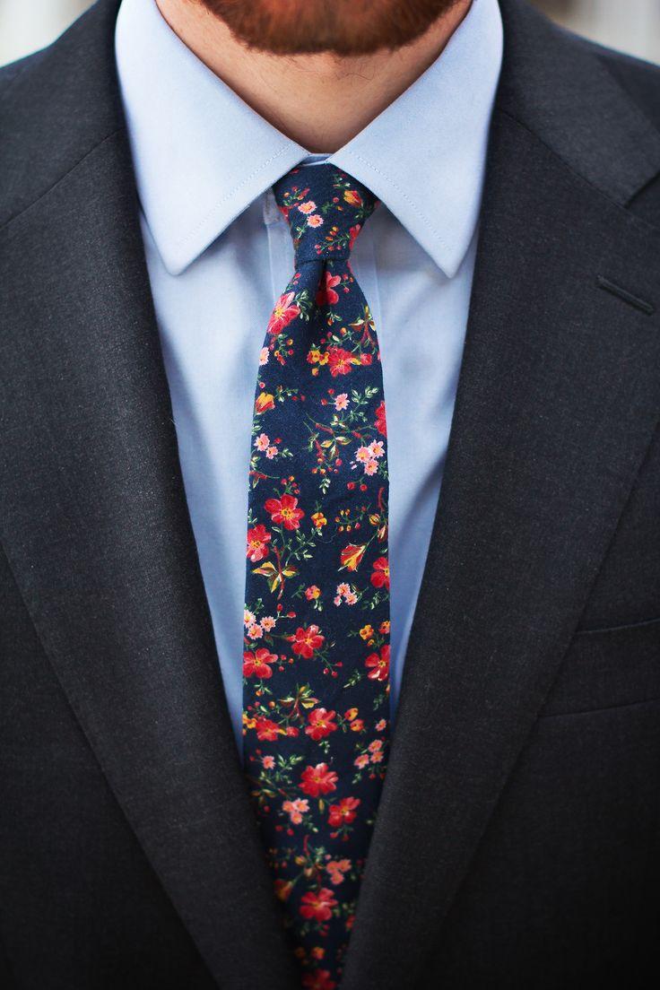 vintage floral ties