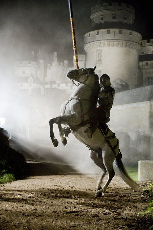 If I ever wrote a story about a knight in shining armour, this would be the image that sparked it all :)
