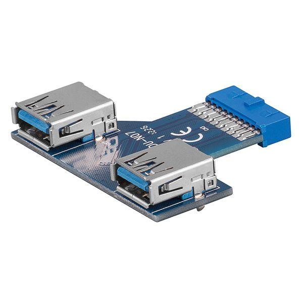 GO-55005  Adaptador placa madre USB 3.0 a HS20 hembra