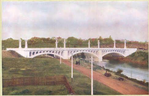 PH 9302. The Church Street Bridge, c.1924.