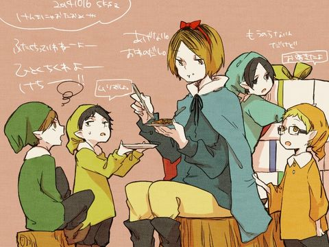 Snow White haikyuu crossover