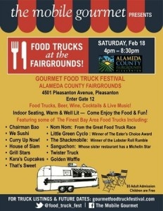 Pleasanton, CA: Mobile Gourmet Food Trucks Coming Back to the Fairgrounds
