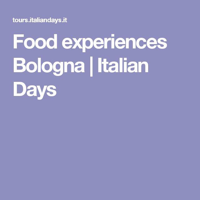 Food experiences Bologna | Italian Days
