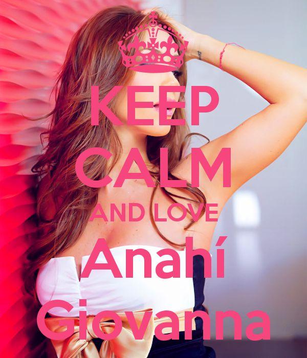 Keep calm: Anahí Giovanna (18)