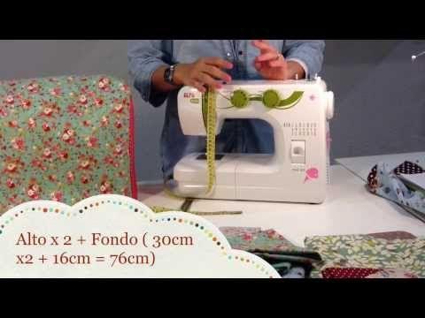 Tutorial # 13 : Funda para la máquina de coser - Tienda, talleres y cursos de manualidades