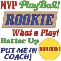 baseball phrases by Sarah Bailey