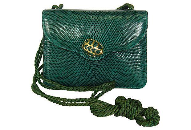 Judith Lieber Emerald Green Handbag on OneKingsLane.com