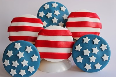 Diary of a Ladybird: Independence Day Cupcakes