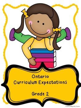 The Ontario Grade 2 Curriculum....all in one place!  This checklist will help you to keep a continuous record of the accomplishments of your class.  It will also keep you on track to make sure you have hit all areas of curriculum. Each expectation of the Grade 2 Curriculum is here for you.
