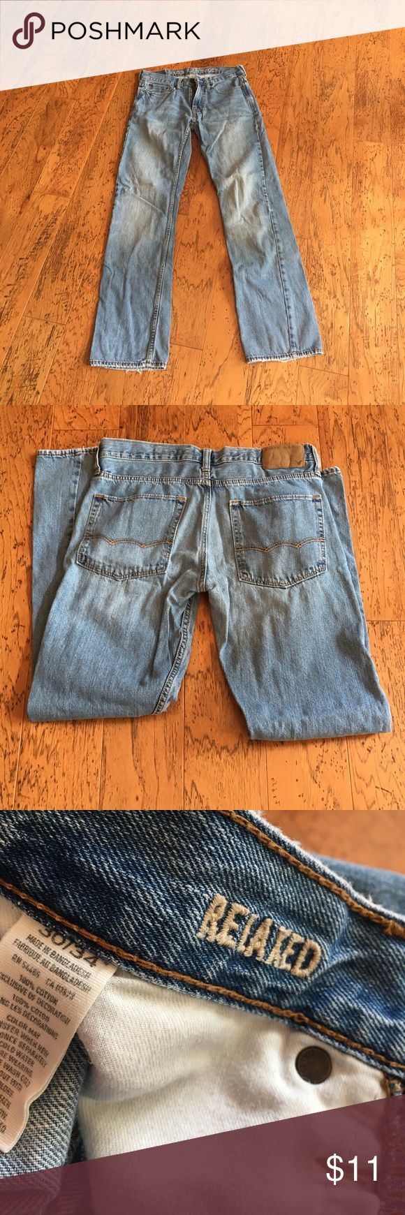 American Eagle Men's Jeans- Relaxed Fit In great condition, relaxed fit- Smoke free home American Eagle Outfitters Jeans Relaxed