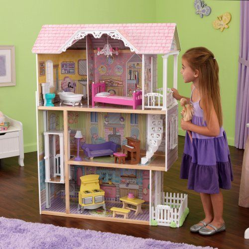 Kidkraft Petite Chateau Toy Dollhouse 65276 Dollhouse Dolls Toys And Dolls