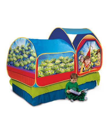 Take a look at this Toy Story Twin Bed Topper Tent by Toy Story on #zulily today!