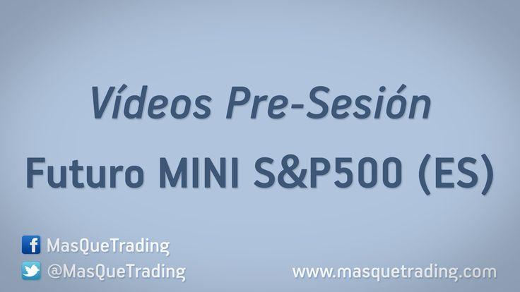 Vídeo análisis pre-sesión del Futuro MINI S&P500 (ES) día 22-12-2015 http://www.masquetrading.com/mercado/Mini_SP500.html Comentarios y consultas a info@masquetrading.com