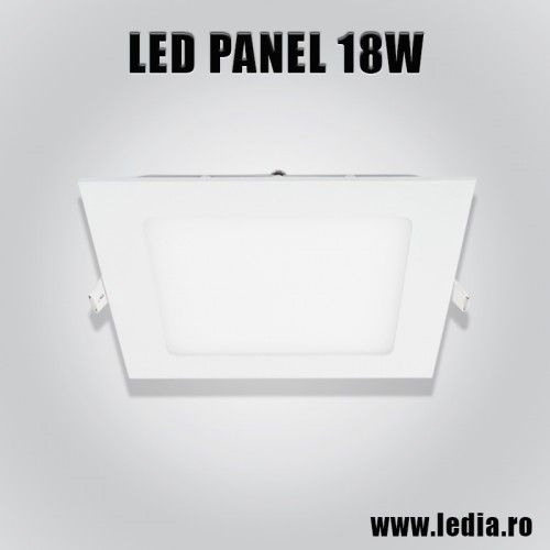 Panou LED panel led 18w patrat 225x225 mm