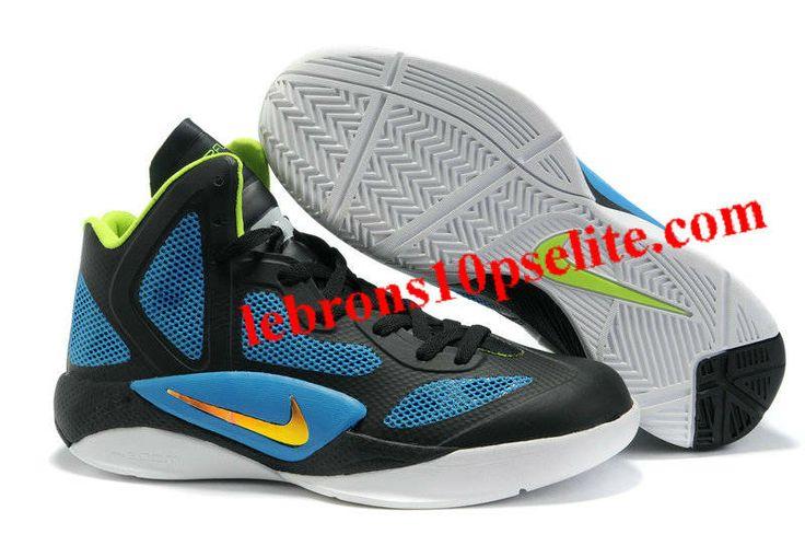 Nike Zoom Hyperfuse 2011 Black/Blue/White/Neon Yellow