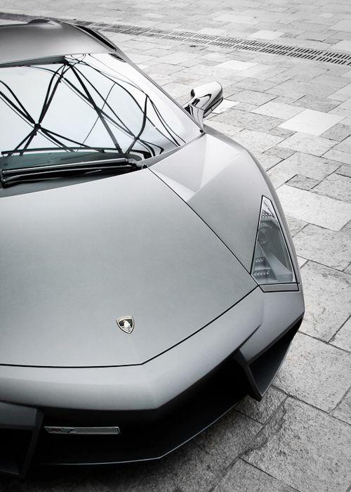 Black & White Lamborghini Reventon