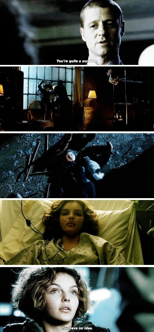 and it has always been Selina's most important purpose of life...surviving. My girl <3 #selina #catwoman #gotham