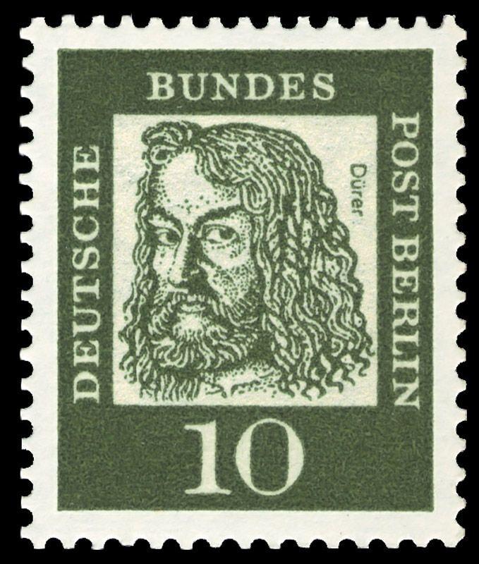Deutsche Post Berlin - Dürer stamp - 1961